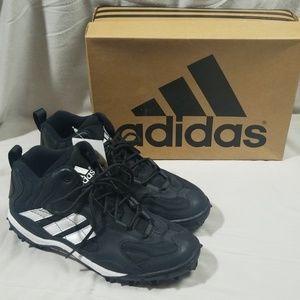 Adidas Black Blitz O Cleats Size 9.5 NEW